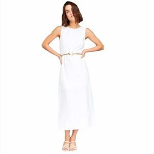 Callahan Knitwear Colette White Midi Dress